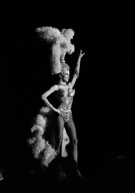 1964-11745-0210 Folies Bergere Showgirl at the Tropicana Credit: Las Vegas News Bureau