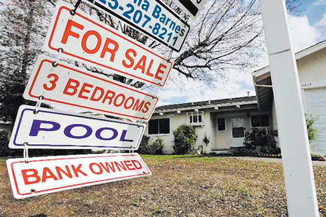 One in every 83 homes in the Las Vegas area, or 1.2 percent of properties, was hit with a foreclosure filing last year, according to a January 2017 report from national housing tracker Attom Data  ...