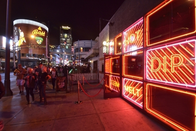 The exterior of F. Pigalle is shown at 508 Fremont St. in Las Vegas on Saturday, Feb. 13, 2016. Bill Hughes/Las Vegas Review-Journal