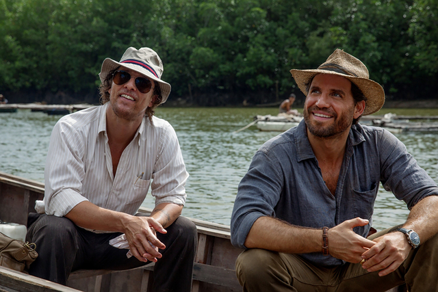 "Matthew McConaughey and Edgar Ramirez in ""Gold"" (Photo by Patrick Brown/The Weinstein Company)"