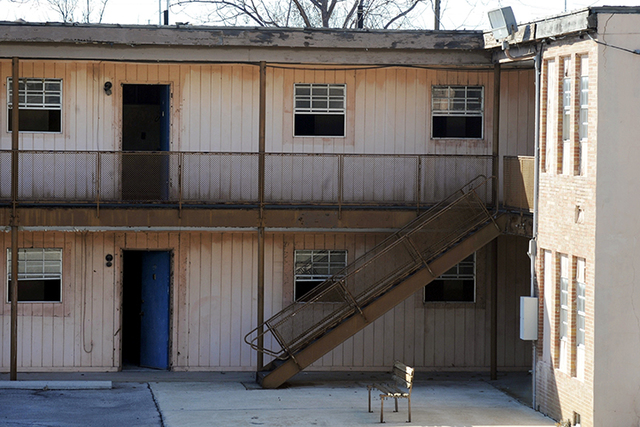 The upstairs suite once occupied by Martin Luther King Jr. at the abandoned A.G. Gaston Motel in Birmingham, Alabama. (Jay Reeves/AP)