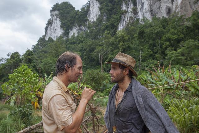 "Matthew McConaughey and Edgar Ramirez in ""Gold"" (Photo by Patrick Brown/The Weinstein Company)"