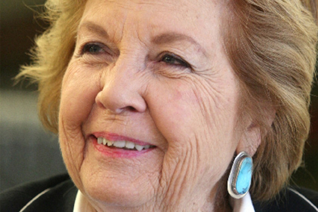 Thalia Dondero, the first woman elected to the Clark County Commission. (Las Vegas Review-Journal)