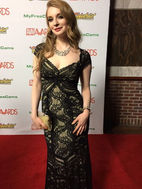 The 2017 AVN Awards red carpet Saturday, Jan. 21, 2017, at The Hard Rock Hotel in Las Vegas. (TVT)