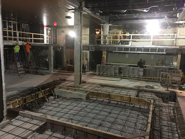 """A look at the former Body English nightclub at Hard Rock Hotel, set to re-open as Club Dominia for the """"Magic Mike Live"""" show in April. (John Katsilomets/Las Vegas Review-Journal)"""
