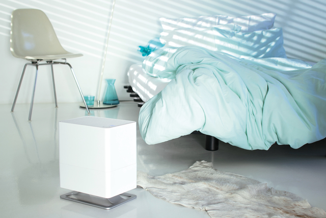 Humidifiers can make people in desert climates feel more comfortable, but without proper maintenance, they can worsen certain conditions or lead to infections. (Stadler Form USA)