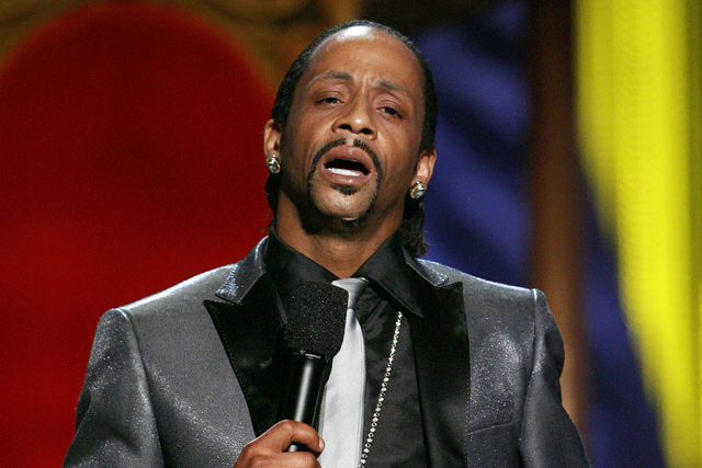 "In this Sunday, July 22, 2007 photo, Katt Williams performs onstage during the ""Comedy Central Roast of Flavor Flav,"" in Burbank, Calif. (AP Photo/Matt Sayles)"