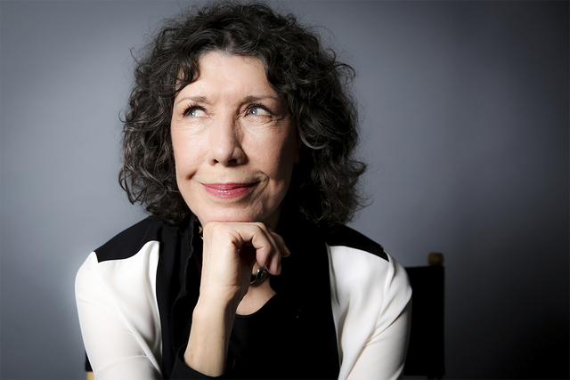 In this Oct. 26, 2016 photo, Lily Tomlin poses for a portrait in Los Angeles. Tomlin will receive the Lifetime Achievement Award at the Screen Actors Guild Awards on Sunday. (Rich Fury/Invision/AP)