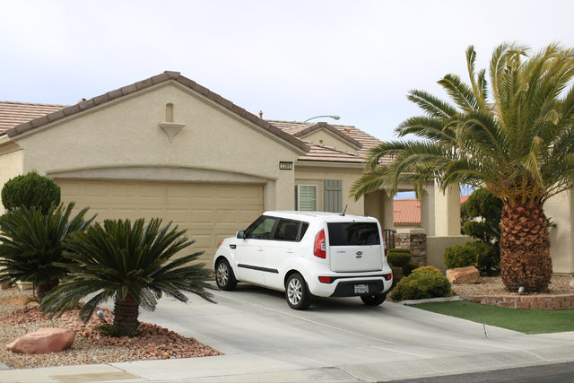 The home of Glen and Emi Yamasaki in the Sun City Anthem community of Henderson is pictured on Thursday, Jan. 5, 2017. Brett Le Blanc/Las Vegas Review-Journal Follow @bleblancphoto