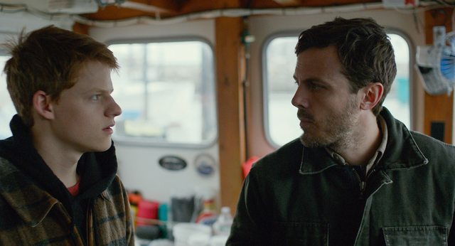 """Lucas Hedges and Casey Affleck in """"Manchester By the Sea."""" (Amazon Studios and Roadside Attractions)"""