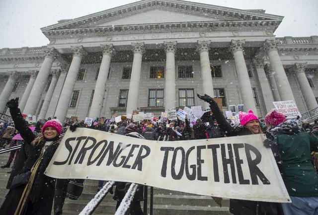 Steve Griffin/The Salt Lake Tribune via AP