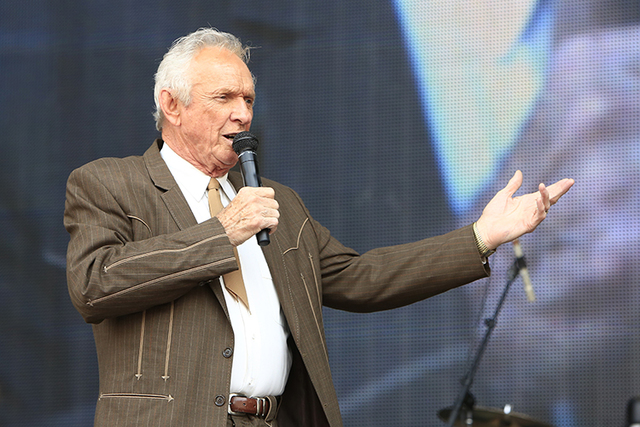 A July 6, 2013, file photo of Mel Tillis (Alonzo Adams/Invision/AP, File) of