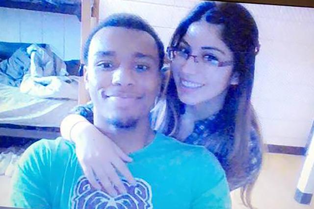 2016 photo of Richard Nelson and his girlfriend Christina Martinez. (Christina Martinez)