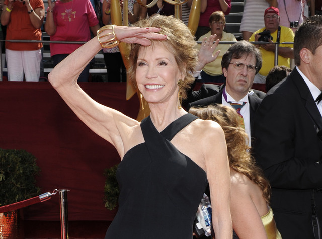 Mary Tyler Moore at the 60th Primetime Emmy Awards in Los Angeles. (Chris Pizzello/AP)
