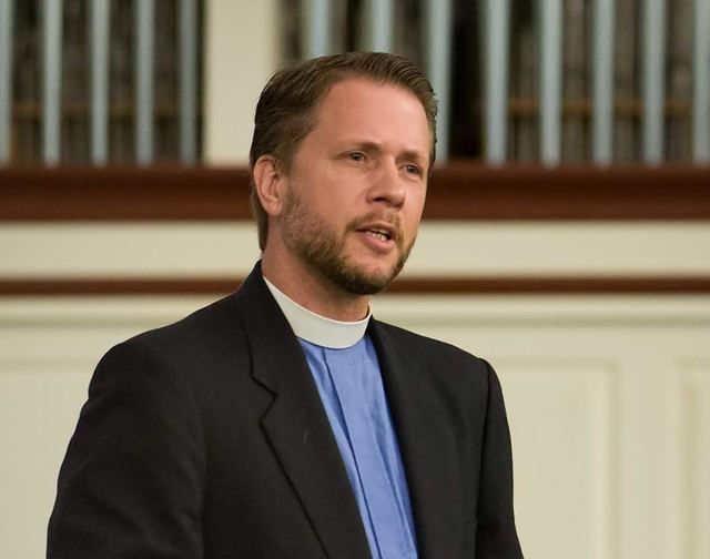 The Rev. Paul Block, pastor of New Song Lutheran Church in Henderson