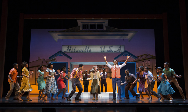 "The humble Detroit home that became ""Hitsville U.S.A."" provides a backdrop for ""Motown the Musical,"" which launches its national tour starting Tuesday at The Smith Center. JOAN MARCUS/SMITH CENTER ..."