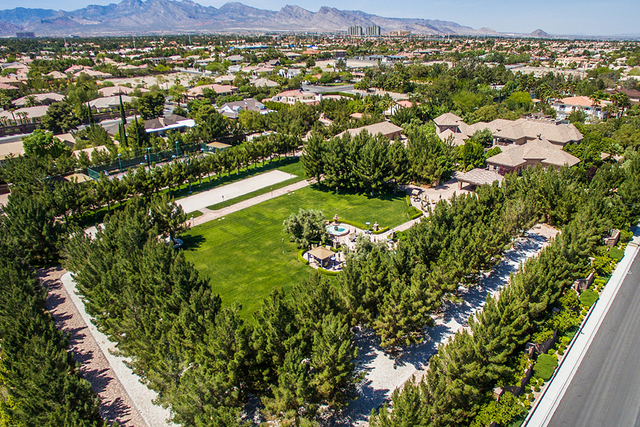 The 6.8 property in the northwest valley is on the market for $6.5 million. (Courtesy)