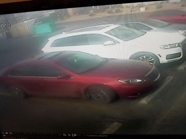 Suspect vehicle (Las Vegas Metropolitan Police Department)