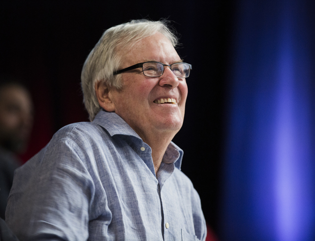 Bill Foley, owner of the Vegas Golden Knights NHL team, smiles during Preview Las Vegas at Cox Pavilion in Las Vegas on Tuesday, Jan. 24, 2017. (Jeff Scheid/Las Vegas Review-Journal) @jeffscheid
