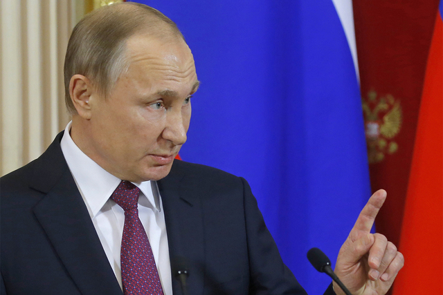 Russian President Vladimir Putin (Sergei Ilnitsky/AP)