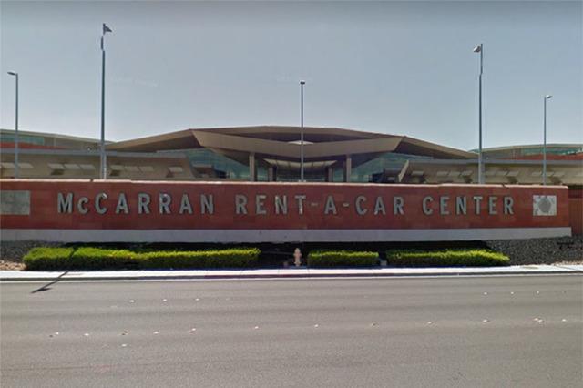McCarran Rent-A-Car Center, 7135 Gilespie St. (Google Street View)