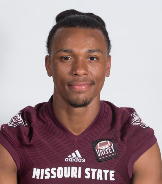 Richard Nelson, the 2016 MSU bears football team portrait. Jesse Scheve/ Missouri State University