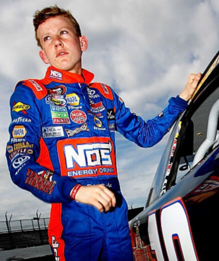 Riley Herbst, 17, will drive a car for Joe Gibbs Racing in the 2017 ARCA Racing Series. (Troy Herbst)