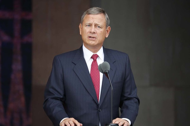Chief Justice John Roberts (Pablo Martinez Monsivais/AP)