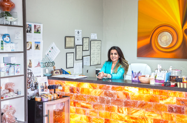 Salt Room LV founder Ava Mucikyan opened the Summerlin location over two years ago. (Benjamin Hager/Las Vegas Review-Journal)