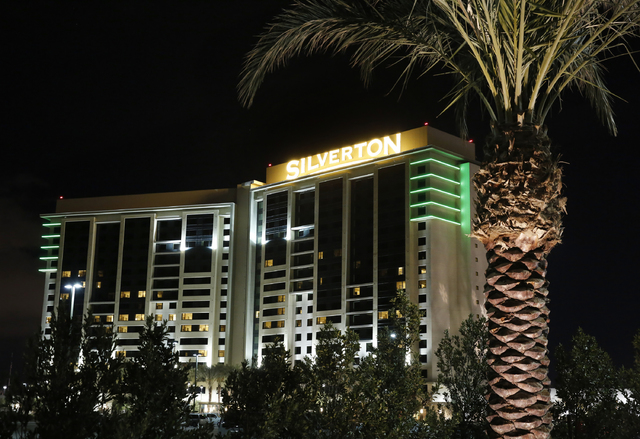 The Silverton is pictured on Jan. 4, 2017, in Las Vegas. Las Vegas police said a couple died after jumping Wednesday night from the casino's parking garage. (David Guzman/Las Vegas Review-Journal) ...