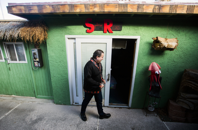 Squidhat Records Owner Allan Carter Walks Into His Office On Friday Jan 13