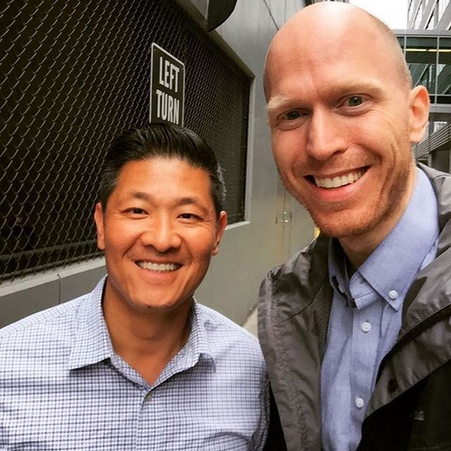 Steinar Skipsnes is pictured with Tai. Tai came to the U.S. by boat with his family as a Vietnamese refugee when he was 6. (Courtesy)