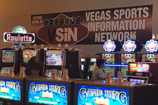 Future home of VSiN (Vegas Sports Information Network), a new sports betting venture by Brent Musburger, at South Point hotel-casino on Wednesday, Jan. 25, 2017 in Las Vegas. (David Guzman/Las Veg ...