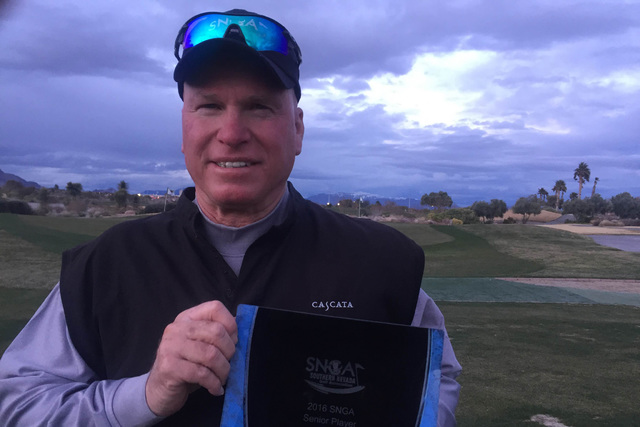 Former United States Air Force fighter pilot John Turk was the 2016 Southern Nevada Golf Association senior division player of the year. The focus needed during his flying career has helped him ac ...