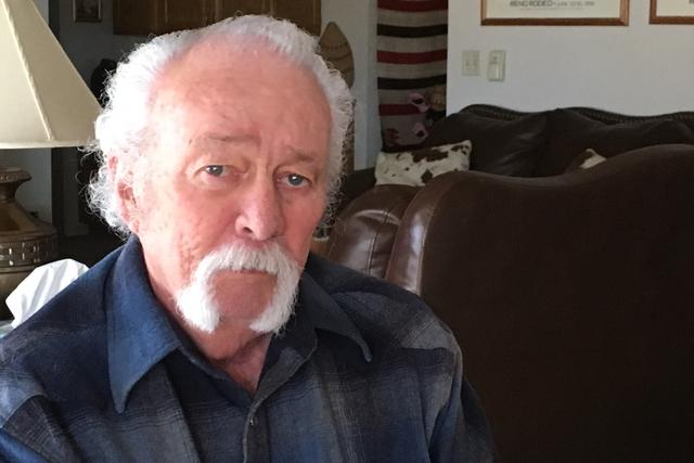 Dayton, Nevada resident William Pyatt says the statue of U.S. Sen. Pat McCarran should remain in the U.S. Capitol. Pyatt reminisced about McCarran in an interview on Thursday, Jan. 19, 2017. (Sean ...