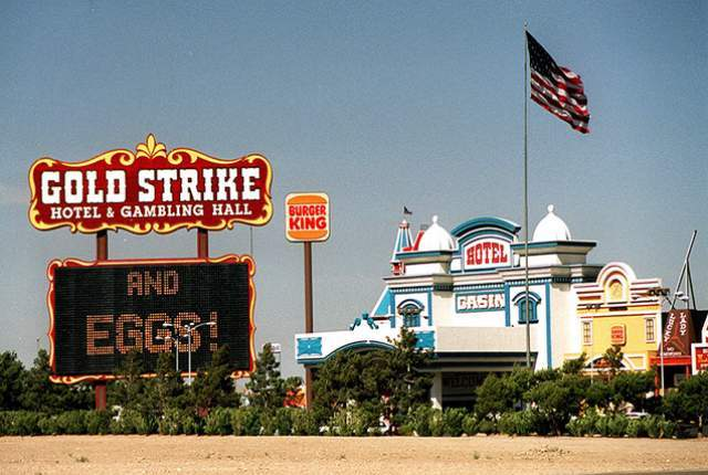 The Gold Strike in Jean, about 30 miles south of Las Vegas (Las Vegas Review-Journal file photo.)