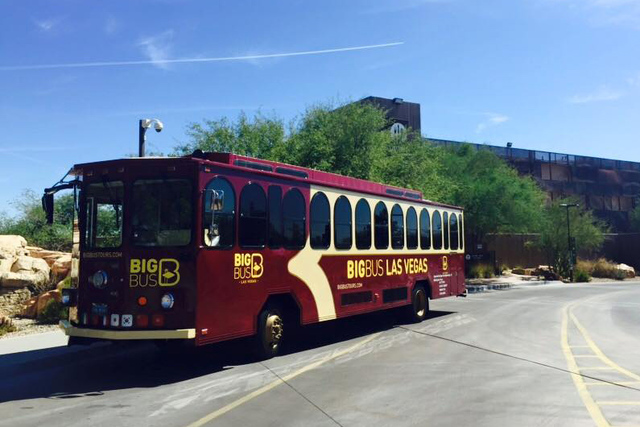 The Regional Transportation Commission of Southern Nevada's board of directors is scheduled to consider a formal contract with Big Bus during a public hearing set for next month. (Big Bus Tours  ...
