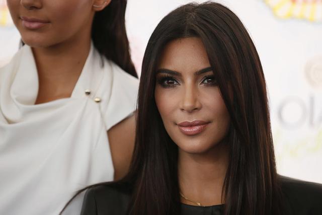 Kim Kardashian (Danny Moloshok/Reuters)