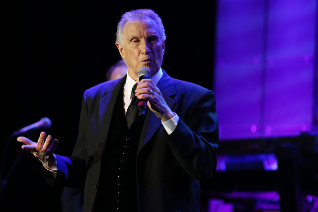 Bill Medley, of The Righteous Brothers, performs at The Society of Singers' 21st ELLA Awards on Thursday, Feb. 20, 2014 in Beverly Hills, Calif.  (Photo by Matt Sayles/Invision for The Society of  ...