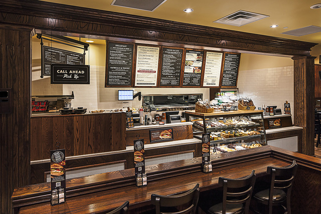 Corner Bakery Cafe is expecting to open its first Nevada location at is at 494 N. Stephanie St., near the intersection with Warm Springs Road, in May (Corner Bakery Cafe)