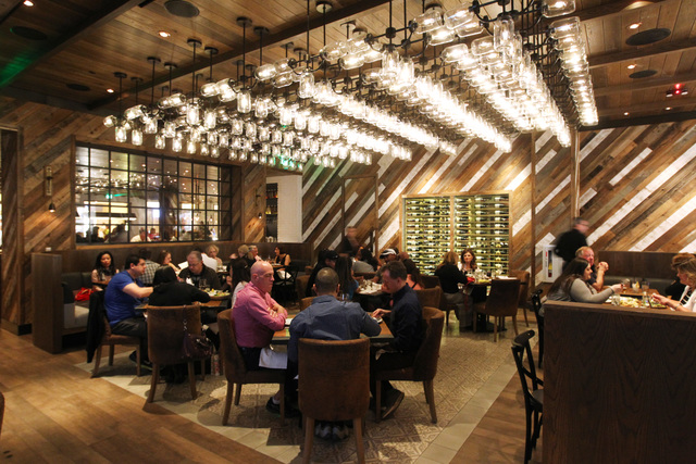 Patrons dine at Yardbird at The Venetian on Saturday, April 11, 2015, in Las Vegas. (Sam Morris/Las Vegas Review-Journal)