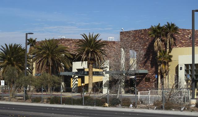 Property owned by Las Vegas businessman Edwin Fujinaga along Durango Road near Hacienda Avenue in Las Vegas on Wednesday, Feb. 1, 2017. (Chase Stevens/Las Vegas Review-Journal) @csstevensphoto