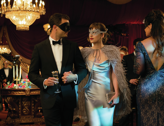 """JAMIE DORNAN and DAKOTA JOHNSON return as Christian Grey and Anastasia Steele in """"Fifty Shades Darker,"""" the second chapter based on the worldwide bestselling """"Fifty Shades ..."""