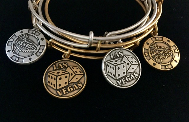 A Las Vegas charm bangle from Alex and Ani stores. (Alex and Ani)