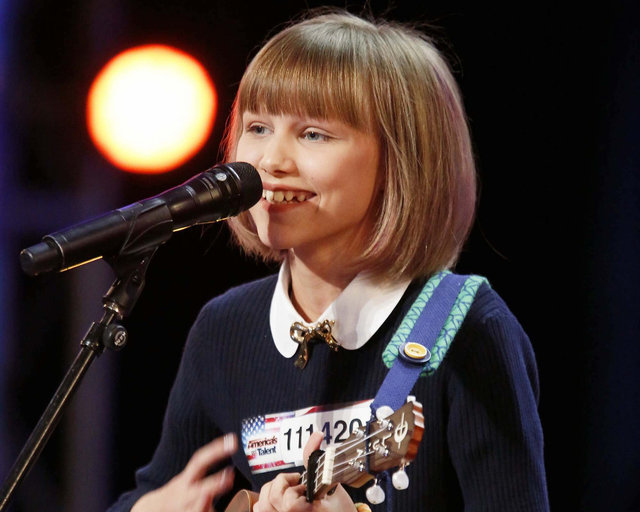 "Season 11 ""America's Got Talent"" champion Grace VanderWaal. (Trae Patton/NBC)"
