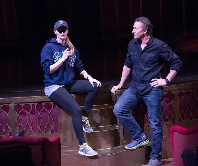 """Rehearsal for the fifth-annual """"One Night for One Drop"""" at Zumanity Theater at New York-New York on Tuesday, Feb. 7, 2017, in Las Vegas. (Tom Donoghue)"""