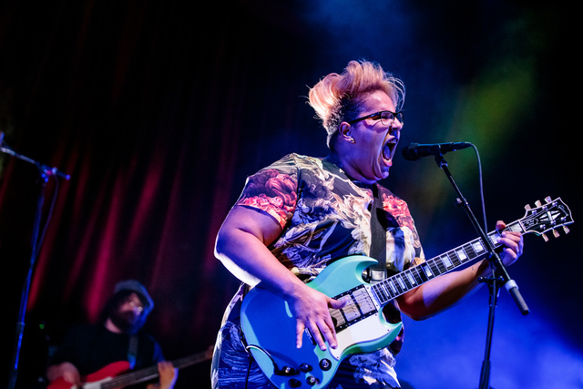 Alabama Shakes performs at Brooklyn Bowl Las Vegas at The Linq in Las Vegas, NV on April 18, 2015. © Erik Kabik Photography