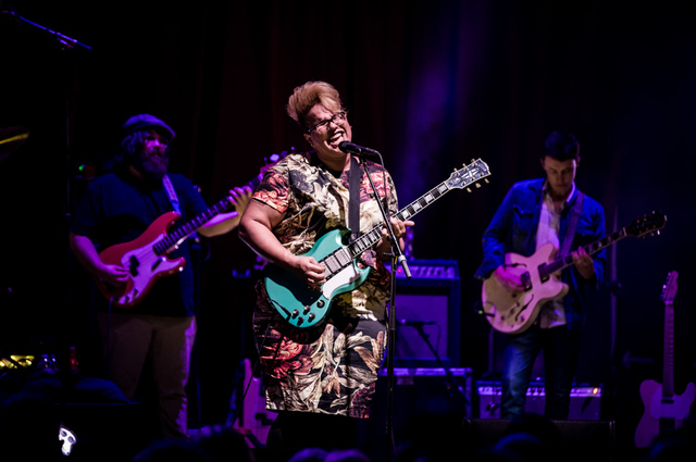 LAS VEGAS, NV - April 18: Alabama Shakes performs at Brooklyn Bowl Las Vegas at The Linq in Las Vegas, NV on April 18, 2015. © Erik Kabik Photography/ erikkabik.com