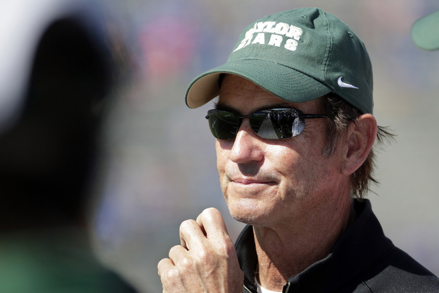 Baylor head football coach Art Briles was fired by the school last year. (Charlie Riedel/AP)