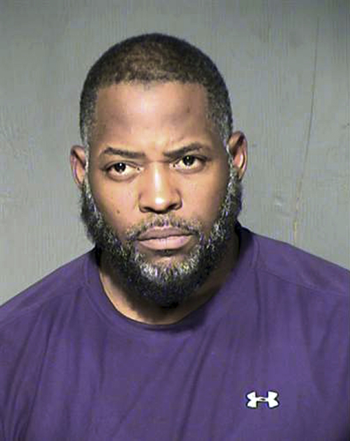 This undated photo provided by the Maricopa County Sheriff's Department shows Abdul Malik Abdul Kareem. Sentencing is set Wednesday, Feb. 8, 2017, for the American-born Muslim convert convicted of ...